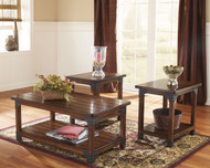 Murphy Medium Brown Occasional Table Set