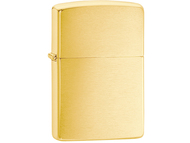 Zippo Brushed Brass Lighter