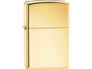 Zippo High Polished Brass Lighter