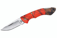 Buck 283 Nano Bantam - Blaze Orange Mossy Oak Camo