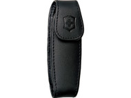 Swiss Army Medium Leather Pouch with Clip