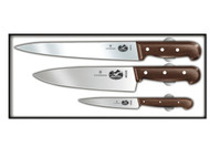 Victorinox 3 Piece Rosewood Chef's Knife Set