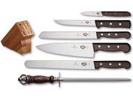 Victorinox 7 Piece Rosewood Block Set