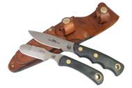 Knives of Alaska Alpha Wolf D2 / Muskrat Combo - Suregrip