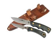 Knives of Alaska Alpha Wolf S30V / Cub Bear Combo - Suregrip