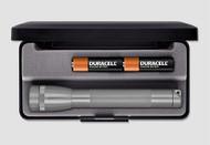 Mini Maglite AA Flashlight with Presentation Box - Gray