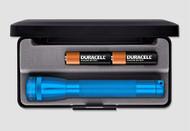 Mini Maglite AA Flashlight with Presentation Box - Blue