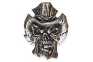Vinnie Garoon Cowboy Skull Pewter Bead