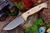 Ambush Sentry - Stonewashed - Natural Canvas Micarta
