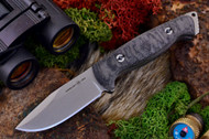 Ambush Sentry - Stonewashed - Sculpted Black Canvas Micarta