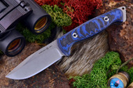 Ambush Sentry - Stonewashed - Sculpted Black & Blue G-10