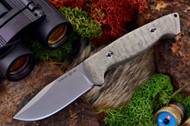 Ambush Sentry - Stonewashed - Sculpted Green Canvas Micarta