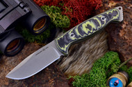 Ambush Sentry - Stonewashed - Sculpted Black & Yellow G-10