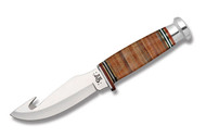 """Case 4"""" Hunter Stacked Leather with Guthook"""