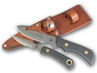 Knives of Alaska Trekker Whitetail Gut Hook / Cub Bear Black Suregrip Combo