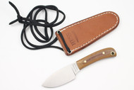 Hess Mini Caper Brown Canvas Micarta
