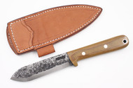 Lon Humphrey Brute de Forge Kephart Natural Canvas Micarta - Scandi Ground #4