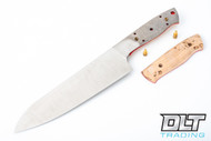 EnZo Chef's Knife Kit - Curly Birch