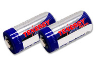 Tenergy Lithium Ion Batteries - CR123A 2-Pack