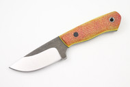 Fletcher Pro 6-5 Tequila Sunrise Micarta - Yellow/Black Liners - Black Pins - #57