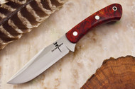 Zoe Crist Peregrine Red Spalted Maple Burl #1