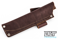 JRE Leather Belt Sheath - N - Left Hand