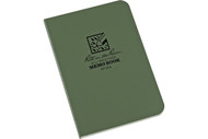 "Rite in the Rain 3.5"" x 5"" Memo Book - Green"