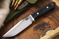 Bark River Matterhorn Black Canvas Micarta