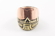Lion ARMory Paintball Mask Bead - Brass/Copper Limited Edition
