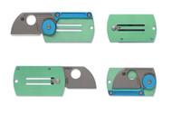 Spyderco Dog Tag Folder Aluminum/Titanium