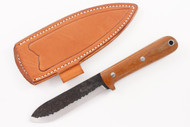 Lon Humphrey Brute de Forge Kephart 3V Natural Canvas Micarta - Scandi #5