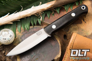 Mini Bushcrafter 3V Black Canvas Micarta