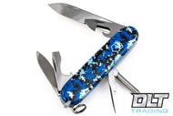 Swiss Army Tinker Blue Digital Camo