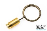 Hollow-Point Gear Grenade Pin Key Ring