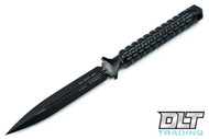 Microtech 115-1 ADO D/E Black Handle - Black Blade