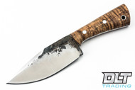 Lon Humphrey Brute de Forge Hunter - Clip Point - Curly Koa - #41