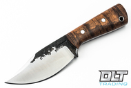 Lon Humphrey Brute de Forge Hunter - Clip Point - Curly Koa - #43