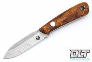 Koster WSS Neck Knife - Desert Ironwood Burl - #4