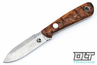 Koster WSS Neck Knife - Desert Ironwood Burl - #5