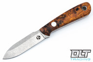 Koster WSS Neck Knife - Desert Ironwood Burl - #8