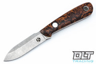 Koster WSS Neck Knife - Desert Ironwood Burl - #13