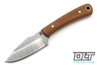LT Wright Great Plainsman - Saber - Natural Micarta - Matte