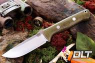 Bravo 1 CPM M4 Green Canvas Micarta