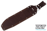 JRE Leather Belt Sheath - Overland Machete