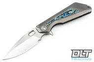 Marfione Custom MSG 3.5 - Double Vapor Titanium - Abalone Inlay - Mirror Polish - #06