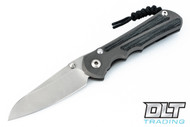 Chris Reeve Large Inkosi - Insingo - Black Canvas Micarta Inlay