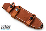 Cub Leather Sheath - Brown
