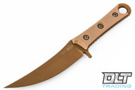 Microtech 200-1 SBK S/E - Tan Handle - Tan Blade