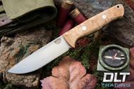 Bravo 1 Elmax LT Birdseye Maple - Rampless - Drop Point