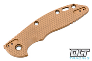 "Hinderer 3.5"" XM-18 4-Way Scale Kit - Textured Coyote G-10"
